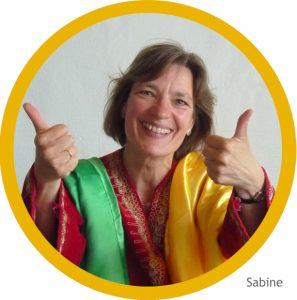 Sabine im Orient-Gewand