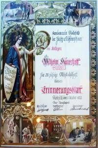 Trichinen-Diplom klein