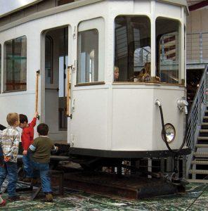 Straßenbahn im Historischen Museum Bielefeld