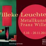 Metallkunst Franz Willeke Ausstellung im FORUM, Historisches Museum Bielefeld, 5. 10. – 20. 11. 2016
