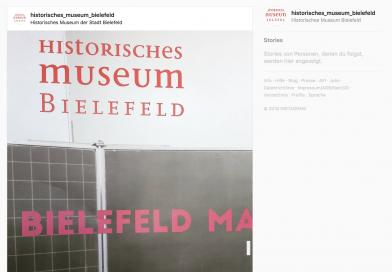 Historisches Museum Bielefeld auf Instagram