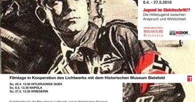 Jugend im Gleichschritt!? – Filmtage in Kooperation des Lichtwerks mit dem Historischen Museum Bielefeld