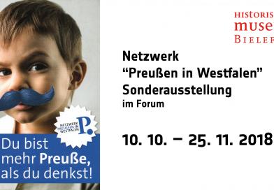 """Sonderausstellung / Netzwerk """"Preußen in Westfalen"""""""