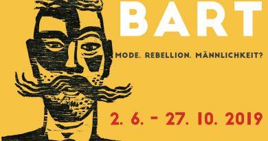BART <BR>Mode, Rebellion, Männlichkeit? <BR>2. 6.- 27. 10. 2019