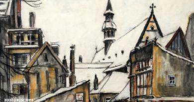 Bielefeld im Blick<BR> Zeichnungen von Wassilij Barssoff<BR>1. 8. – 15. 9. 2019
