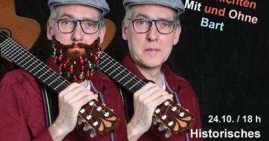 Comedyführung mit Heinz Flottmann am 24. Oktober um 18 Uhr
