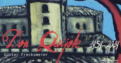 Günter Frecksmeier – Don Quijote 1959-2019 <BR> Ausstellung im Forum, 13. 10. – 24. 11. 2019