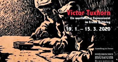 Victor Tuxhorn<BR> Ein westfälischer Expressionist im Ersten Weltkrieg<BR>19. 1. – 15. 3. 2020