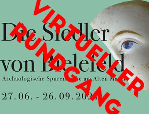 """VIRTUELLER RUNDGANG """"Die Siedler von Bielefeld """""""