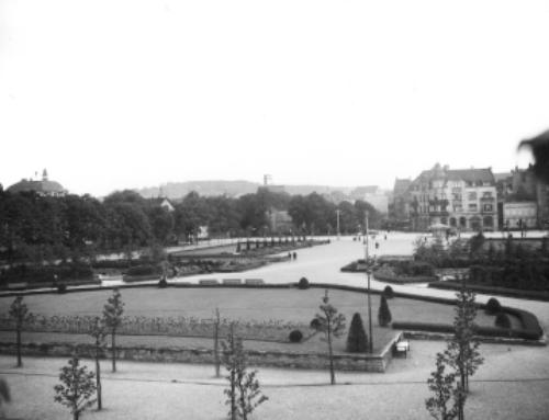 Der Bürgerpark in drei Bänken